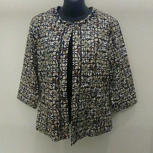 Joni B Jackets & Coats - VTG- Joni B Printed Cardigan Jacket